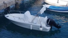 Motorboat Primus Fisher 17 for rental