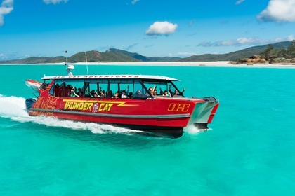 Hire Motorboat Custom Catamaran Thunder 46 Airlie Beach