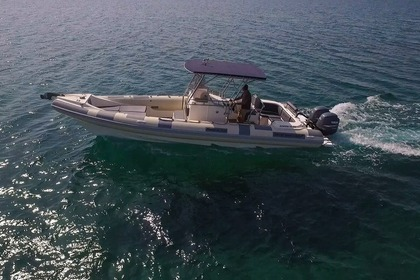 Rental RIB Great White Faethon 900 Paros