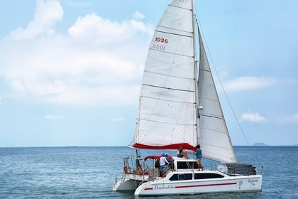 Hire Catamaran Seawind 1000 Ko Samui District