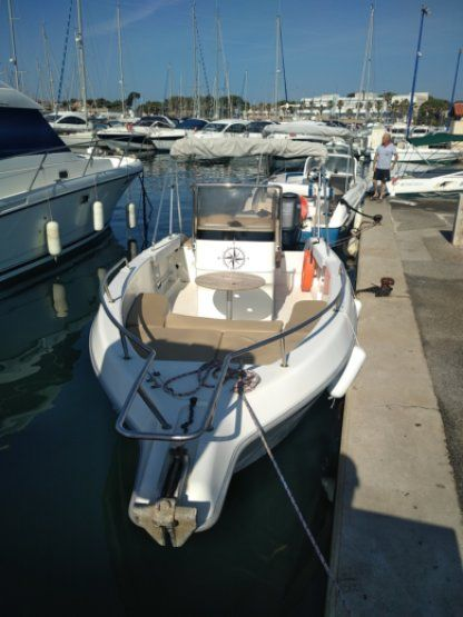 Miete Motorboot Sessa Marine Key Largo 20 Hyères