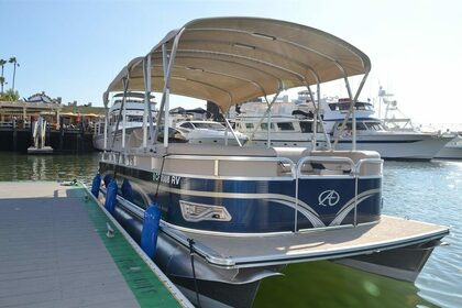 Rental Motorboat Pontoon 21 Newport Beach