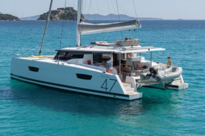 Location Catamaran Fountaine Pajot Saona 47 Mahé