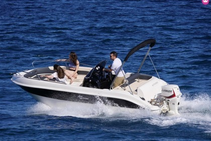 Rental Motorboat AS MARINE 570 OPEN Roses