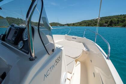 Hire Motorboat QUICKSILVER 555 activ Zadar
