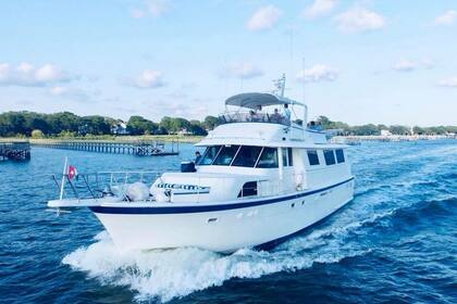 Hire Motorboat Hatteras 19 Charleston