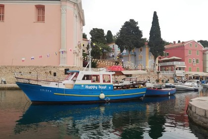 Rental Motorboat Custom made Happy Boat Veli Lošinj
