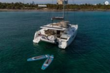 Motor yacht Fountaine Pajot Helia 44 for hire