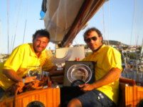 Sparkman & Stephens Cutter Bermudiano in La Maddalena for hire