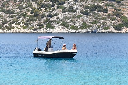 Hire Motorboat Nireus 4.95 Angistri