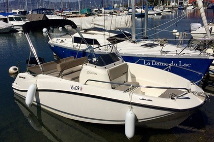 Rental Motorboat Quicksilver Activ 505 Open Bouveret
