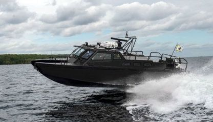 Charter Motorboat Combat Boat 90 Malmö