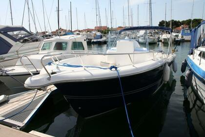 Rental Motorboat White Shark 265 Zadar