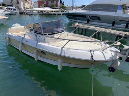 Miete Motorboot Sessa Marine Key Largo 26 Grimaud
