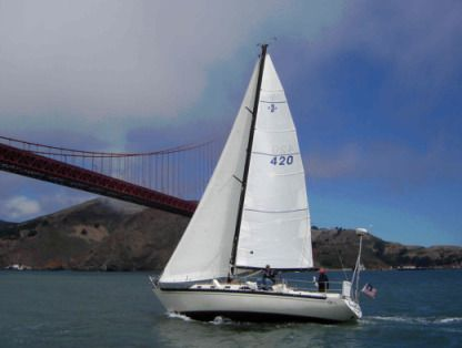 Rental Sailboat Islander Yachts Islander 36 San Francisco
