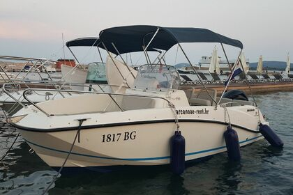 Rental Motorboat QUICKSILVER Activ 555 Open Turanj