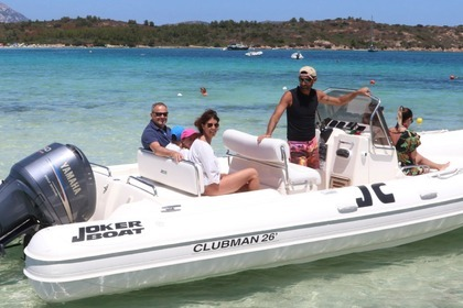 Location Semi-rigide Joker Boat Clubman 26 San Teodoro