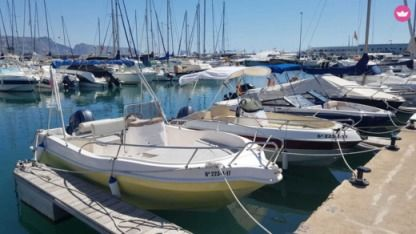 Rental Motorboat Atlantico Albakora Altea