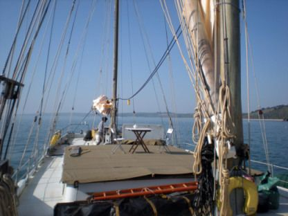 Location Voilier Custom Build Thames Sailing Barge Dartmouth