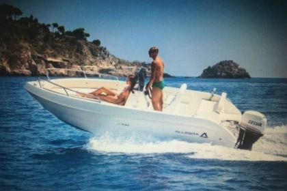 Hire Motorboat ALLEGRA 18 OPEN 15cv L'Estartit