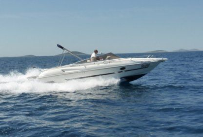 Rental Motorboat Cranchi Turchese 24 Split