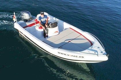Hire Motorboat Voraz 400 open Cala Torret