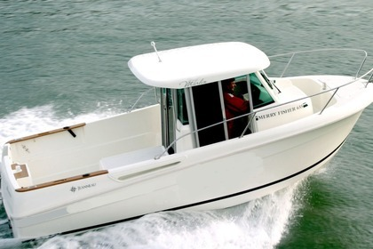 Charter Motorboat Merry Fisher Marlin 655 Fécamp
