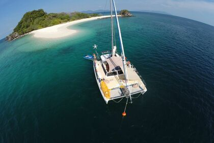 Hire Catamaran Ostac Custom Phuket