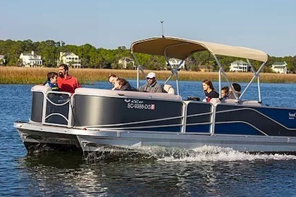 Hire Motorboat SunCatcher Pontoon Boat G3 22' Hilton Head Island
