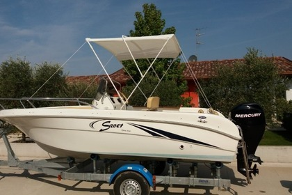Charter Motorboat SAVER 550 OPEN Jesolo