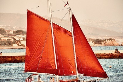 Rental Sailboat Willard Pilot Schooner Newport Beach