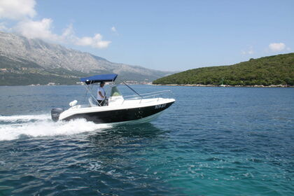Rental Motorboat Refull HM 22 Flyer Korčula