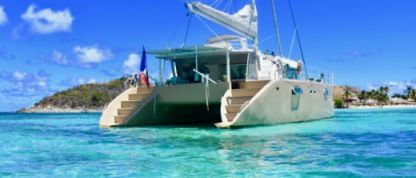 Rental Catamaran Visage 450 Sainte Rose