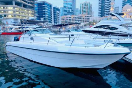 Rental Motorboat Gulf Craft 31 Dubai