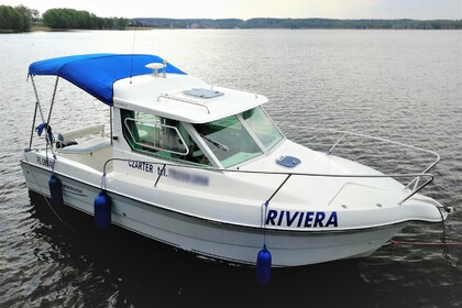 Rental Motorboat QUICKSILVER 635 Węgorzewo