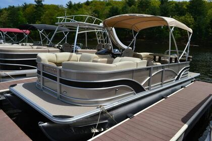 Rental Motorboat Sylvan 8524 LZ PB Greentown