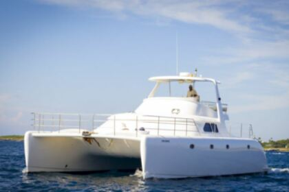 Charter Catamaran Power Cat Marine 48 La Romana