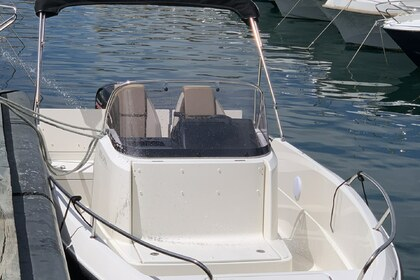 Rental Motorboat Quicksilver 605 Open Marseille