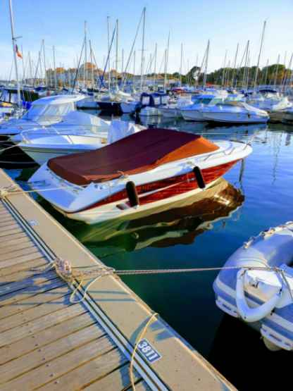 Rental Motorboat Sea Ray 220 Overnighter Hyères