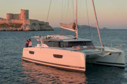 Location Catamaran Fountaine Pajot Astréa 42 Marseille