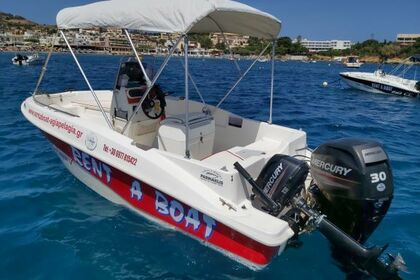 Rental Motorboat COMPASS 150 cc Heraklion