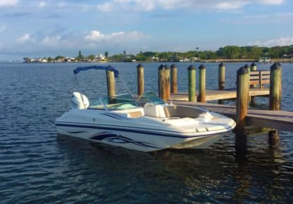 Charter Motorboat Hurricane Sun Deck 19 North Port