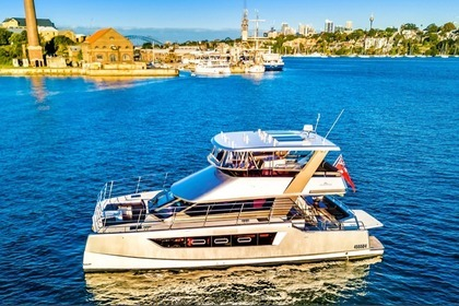 Hire Catamaran Custom Built Catamaran Sydney
