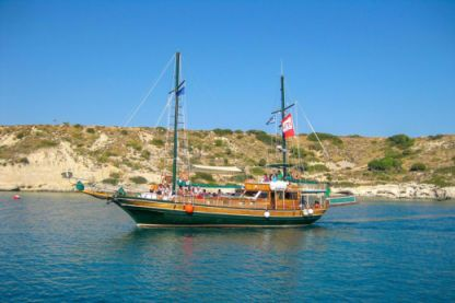 Charter Sailboat Traditional Motorosailer Rhodes