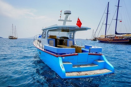 Charter Motorboat Lobster Final Model Bodrum