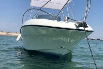 Rental Motorboat QUICKSILVER 650 COMMANDER Carnon
