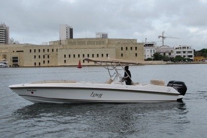 Rental Motorboat SINGLAR PLUS 28 PIES Cartagena