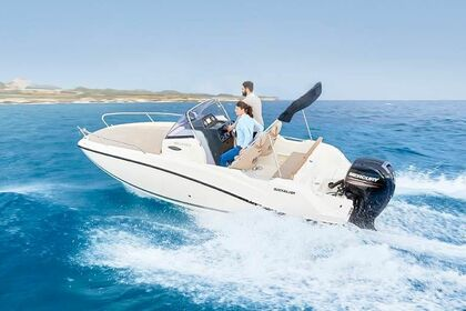 Hire Motorboat Quicksilver Activ 605 Sundeck Rab