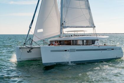 Rental Catamaran Lagoon Lagoon 450 Sportop O.V. with watermaker & A/C - PL Saint Thomas