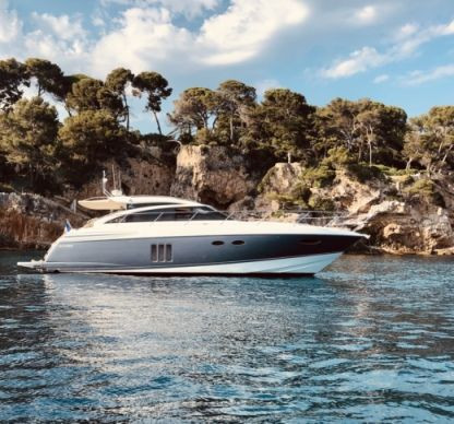 Rental Motorboat Princess V52 Golfe Juan